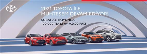 2021 Toyota ile Muhteşem Devam Ediyor!