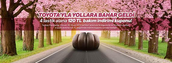 Toyota'yla Yollara Bahar Geldi